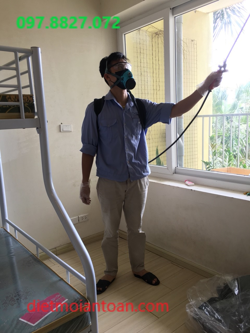 Dịch vụ phun muỗi an toàn, uy tín tại Nhà Hàng, Spa, Khách Sạn
